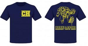 Corehammer shirt navy mock