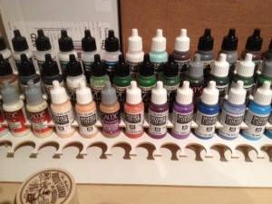 Small paints