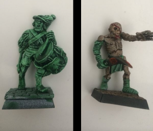 Zombies - Before & After