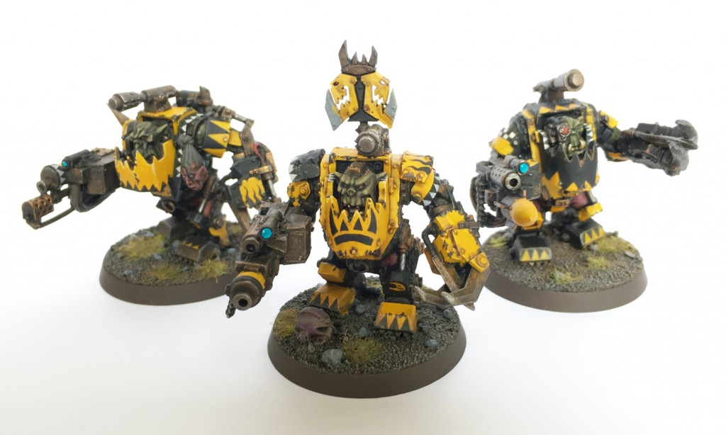 Bad Moon nobz in mega armour