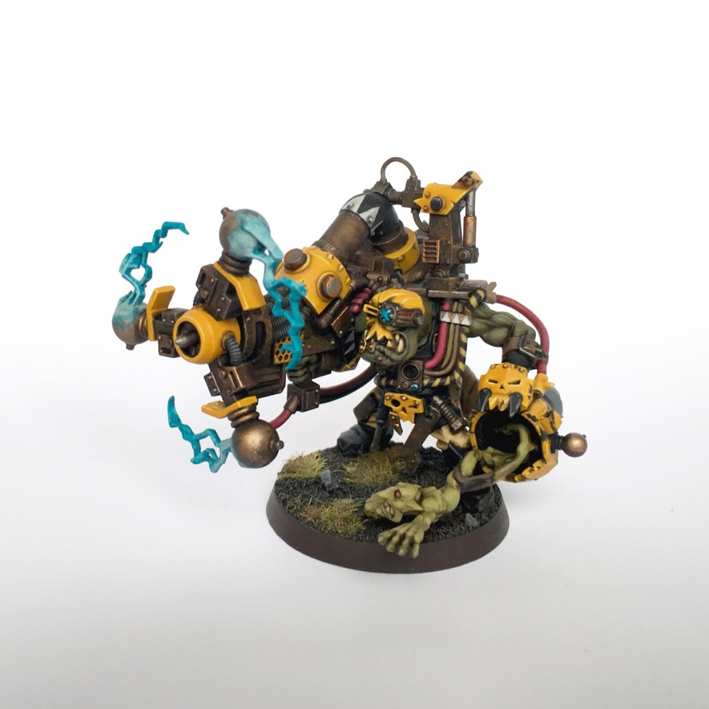 Bad Moon big mek with shokk attack gun
