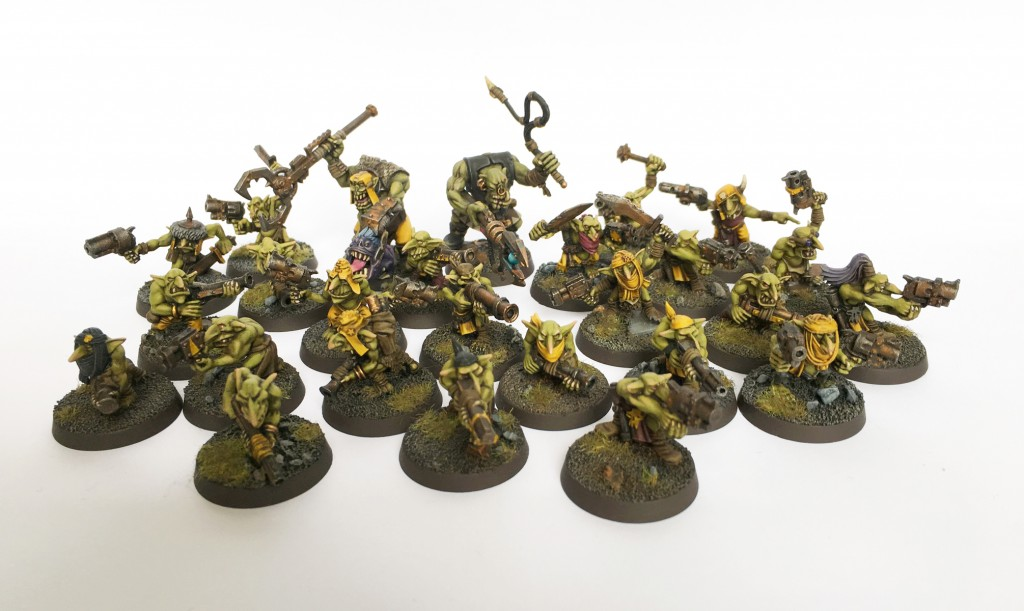 Gretchin mob