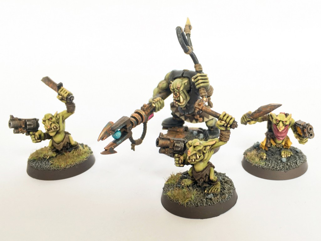 Runtherd and gretchin