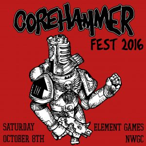 Corehammer Fest Flyer
